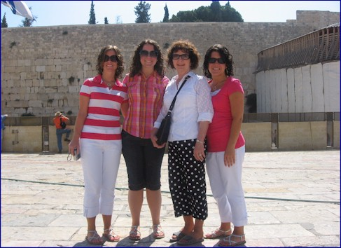 Girls at the Wailing Wall